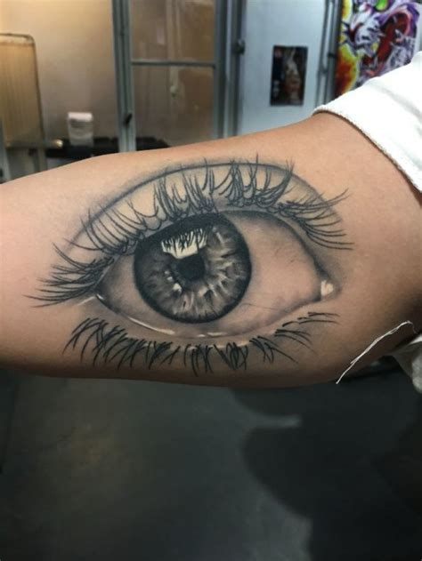 Beautiful Eye Tattoo Examples That Will Make You Surprised