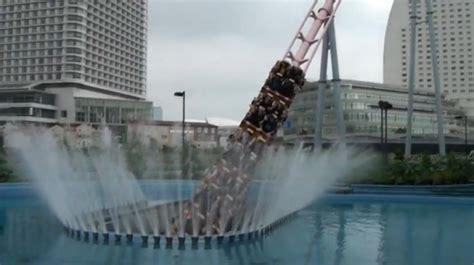 Underwater Roller Coaster At Cosmoworld