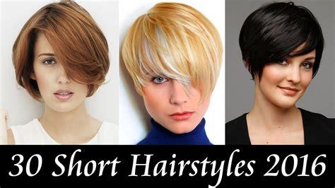 30 Short Hairstyles 2016 / 30 แบบผมสั้น เทรนด์ปี 2016