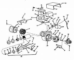 Oil Burner Assembly Diagram  U0026 Parts List For Model