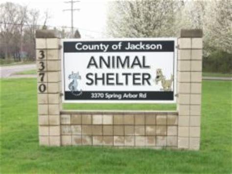 animal shelter jackson county mi