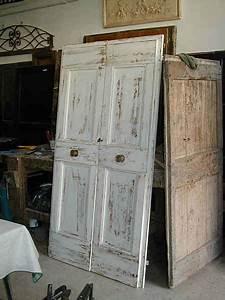 Porte Antiche  Porta A Due Battenti In Shabby