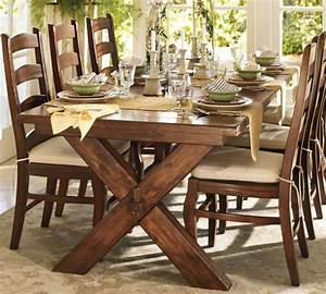 Modern dining room tables 2015 modern home decor for Barn style table and chairs