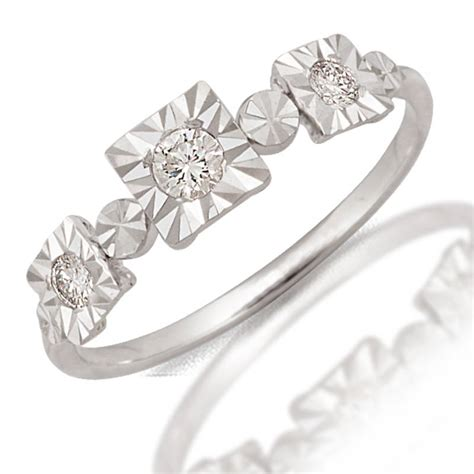 one day buy 0 1ct white gold ring 46761