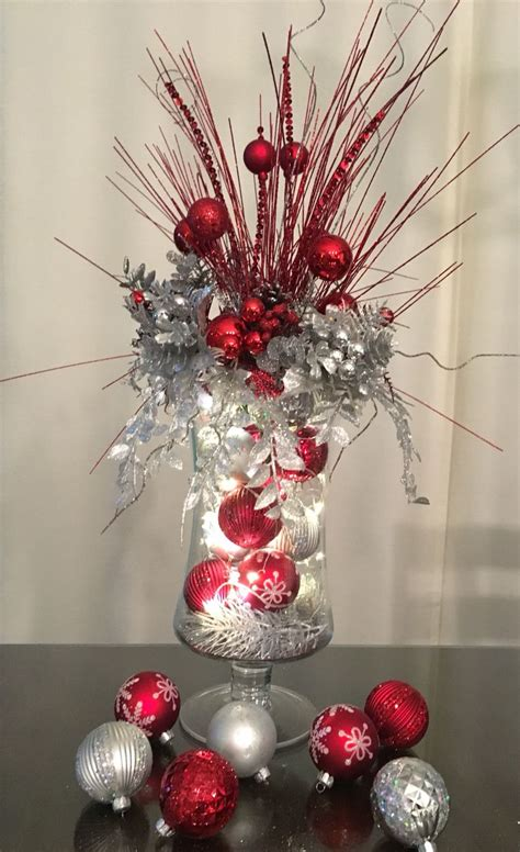 designed  tina table centerpiece  christmas
