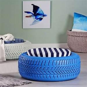 HOME DZINE Craft Ideas Turn Old Tyres Into Extraordinary
