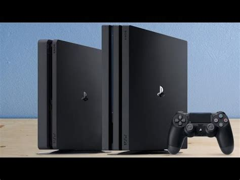 the differences between ps4 slim ps4 pro