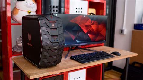 gaming computer desk acer predator g6 review techradar