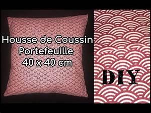 Coudre Une Housse De Coussin : coudre une housse de coussin tuto couture diy youtube ~ Melissatoandfro.com Idées de Décoration
