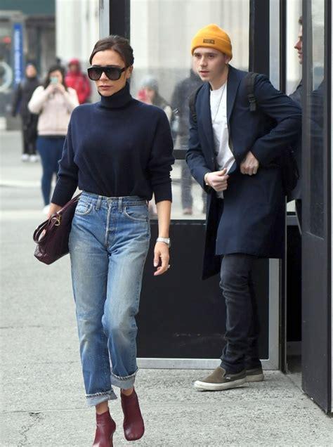 chloe moretz and kate harris victoria beckham in levi s 501 vintage jeans denimology