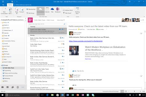 outlook 2016 email best windows 10 email clients and apps to use