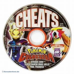 Gamecube Cheats Cd Fu00fcr Pokemon Colosseum Serious Sam
