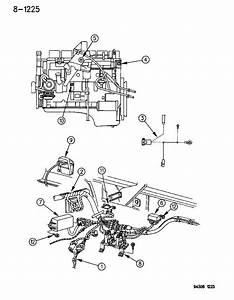 1994 Dodge Ram 1500 Wiring - Engine