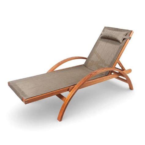 chaise de ampel 24 chaise longue de jardin caribic 199x75cm en