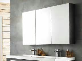 bathroom mirror cabinet ideas cool bathroom mirror cabinets with three panels storage contemporary vanity units using duo