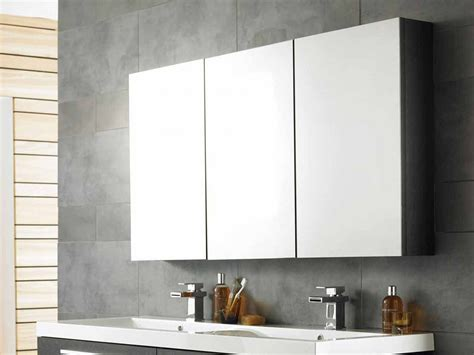 bathroom vanity mirror cabinet cool bathroom mirror cabinets with three panels storage