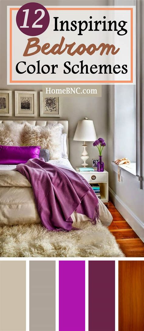 Bedroom Color Palette Ideas Picture by 12 Best Bedroom Color Scheme Ideas And Designs For 2019
