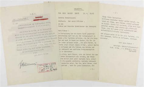 hitlers suicide note    auction
