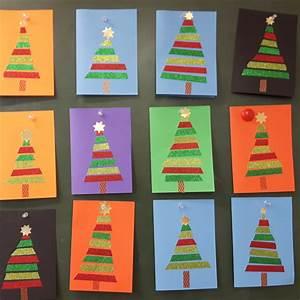 Weihnachtskarten Basteln Grundschule : das verfuchste klassenzimmer weihnachtskarte ~ Orissabook.com Haus und Dekorationen