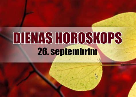 Svētdienas - 26. septembra dienas horoskops | Populars
