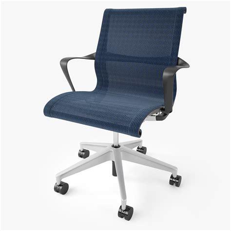 Herman Miller Setu Chair Dimensions by Herman Miller Setu Office Chair 3d Model Max Obj Fbx