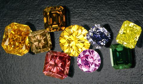 color diamonds or artificial colored diamonds