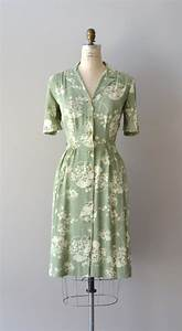 shade of sage meets mint green. 1940s1940S Dresses ...