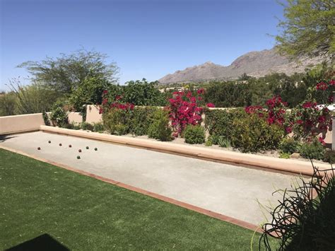 Backyard Bocce Court Dimensions by Backyard Bocce Courts Becoming Booming Trend The