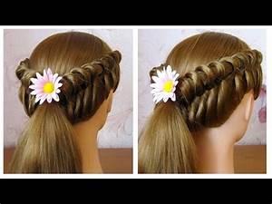 Coiffure Tresse Facile Cheveux Mi Long : coiffure facile faire soi m me pour cheveux mi long long ~ Melissatoandfro.com Idées de Décoration