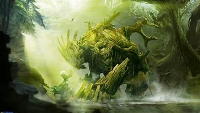 Guild Wars Sylvari Fantasy Artwork Desktop Background