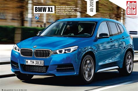 2018 Bmw X1 To Get 300 Hp 4 Cylinder Engine Autoevolution