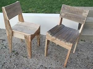 Chaise En Bois : la menuiserie 503 chaises en bois de palette ~ Melissatoandfro.com Idées de Décoration