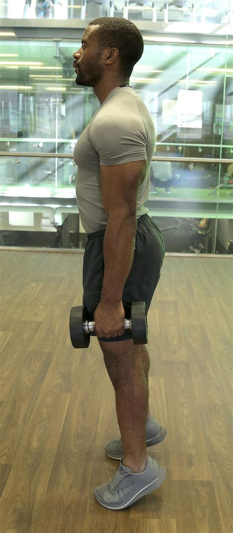 calf calves exercises bigger dumbbells