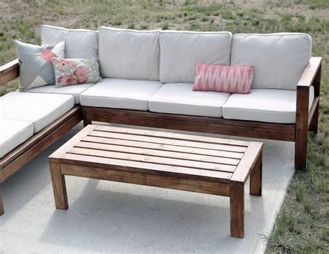 outdoor coffee table diy furniture plans diy