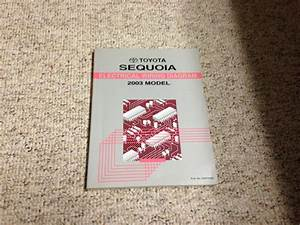 2003 Toyota Sequoia Electrical Wiring Diagram Manual