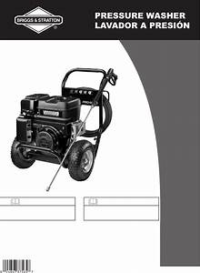 Briggs  U0026 Stratton Pressure Washer 20258 User Guide