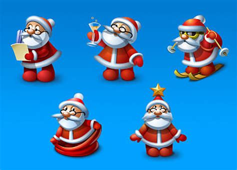 christmas design resources santa claus