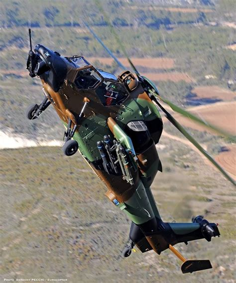 Tiger Attack Helicopter Climbing