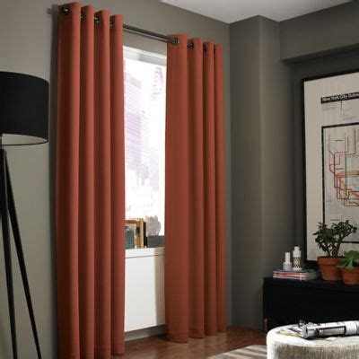 Buy Paprika Curtain Panels from Bed Bath & Beyond