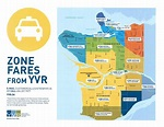 Get Ready for Set Rate Taxi Fares for Travel from YVR ...