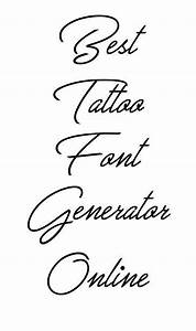 1000 ideas about tattoo lettering fonts on pinterest With tattoo template generator