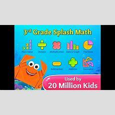 3rd Grade Splash Math Games Multiplication, Divison