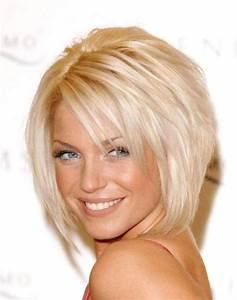 Coupe De Cheveux Femme Visage Rond Cheveux Epais : coupe de cheveux pour visage rond et cheveux pais ~ Nature-et-papiers.com Idées de Décoration