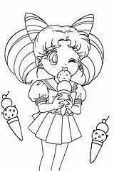 Sailor Moon Coloring Pages Printable Sheets Anime Getcolorings Sumptuous Getdrawings Coloringfolder sketch template
