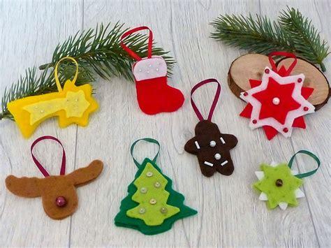 weihnachts bastel material weihnachtliche geschenkanh 228 nger und h 252 bschen baumschmuck schnell und einfach basteln