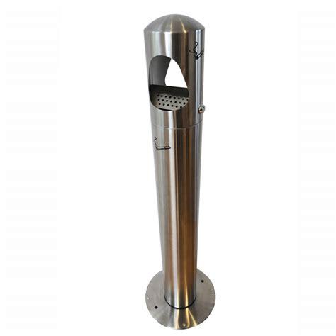 cendrier d exterieur sur pied cendrier poteau design avec sac de vidange ignifuge doublet