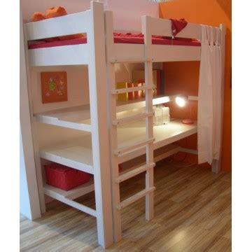 lit avec bureau intégré bambins deco produits lit pour enfant