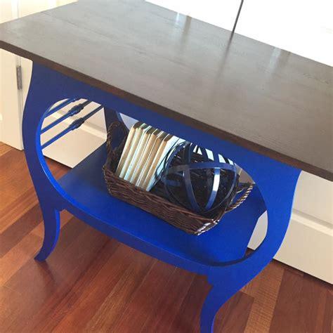 klein blue java table general finishes design center