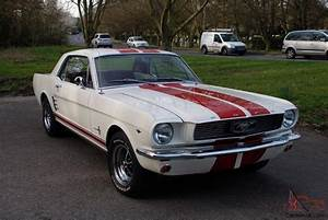 """1966 Ford Mustang 289 Auto Coupe White """"Stacey"""""""