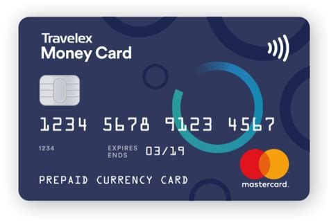 travel money card prepaid currency card